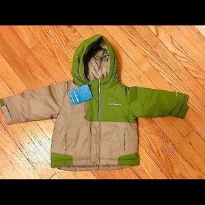 Columbia Slope Rider Snow Winter Jacket,boys 3T